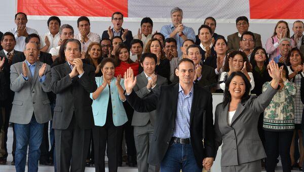Los miembros de Fuerza Popular de Perú (archivo) - Sputnik Mundo