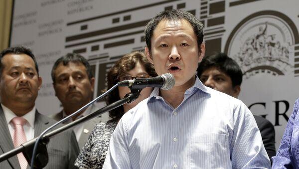 Kenji Fujimori, congresista peruano - Sputnik Mundo