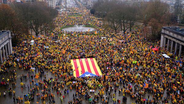Estelada, bandera independentista de Cataluña (imagen referencial) - Sputnik Mundo
