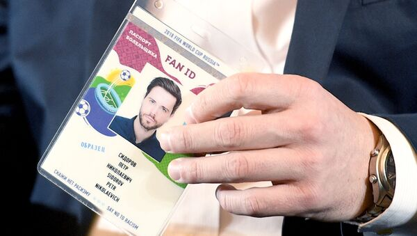 FAN ID para la Copa Mundial de la FIFA 2018 - Sputnik Mundo