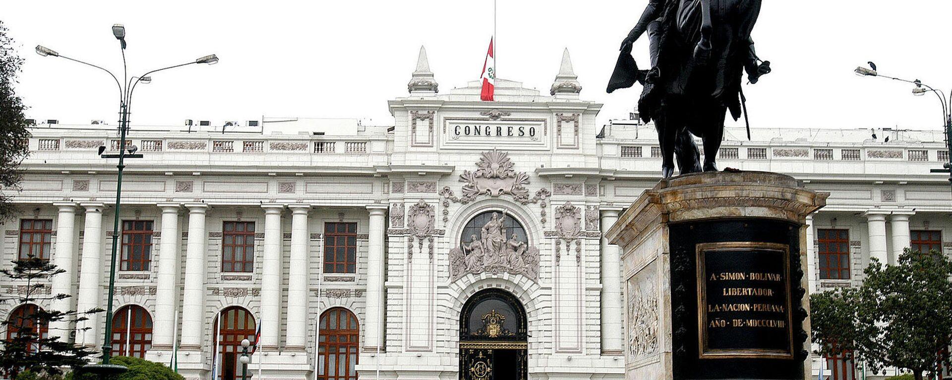 Congreso de la República del Perú - Sputnik Mundo, 1920, 12.02.2021