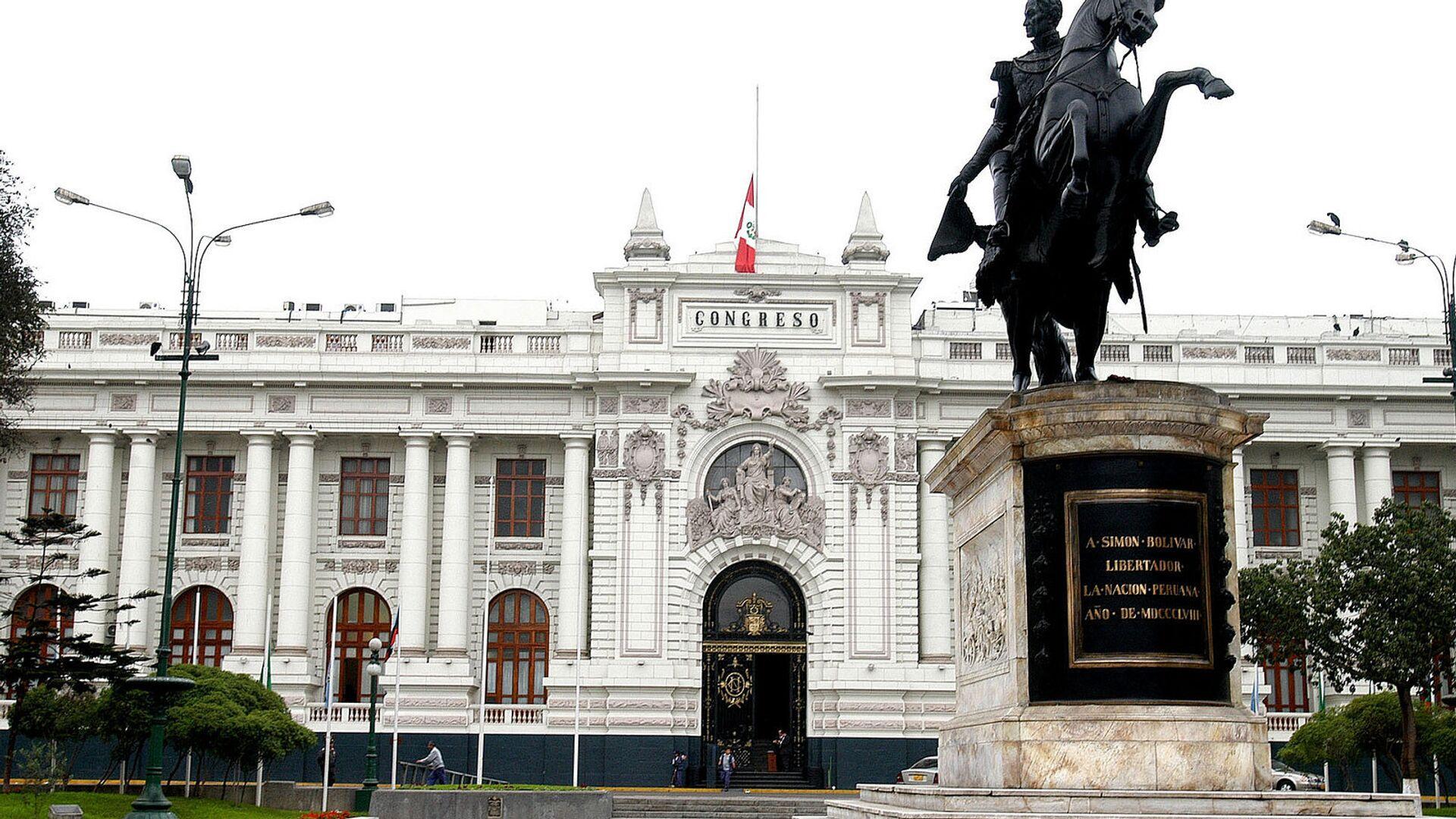Congreso de la República del Perú - Sputnik Mundo, 1920, 27.08.2021