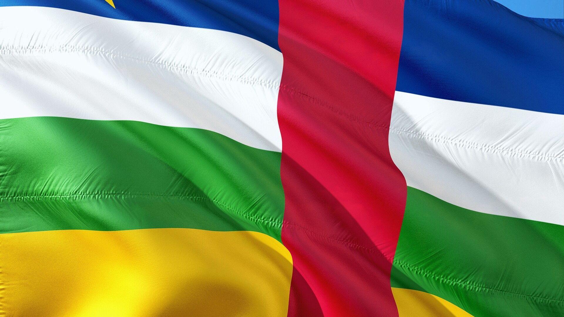 Bandera de la República Centroafricana - Sputnik Mundo, 1920, 16.02.2021