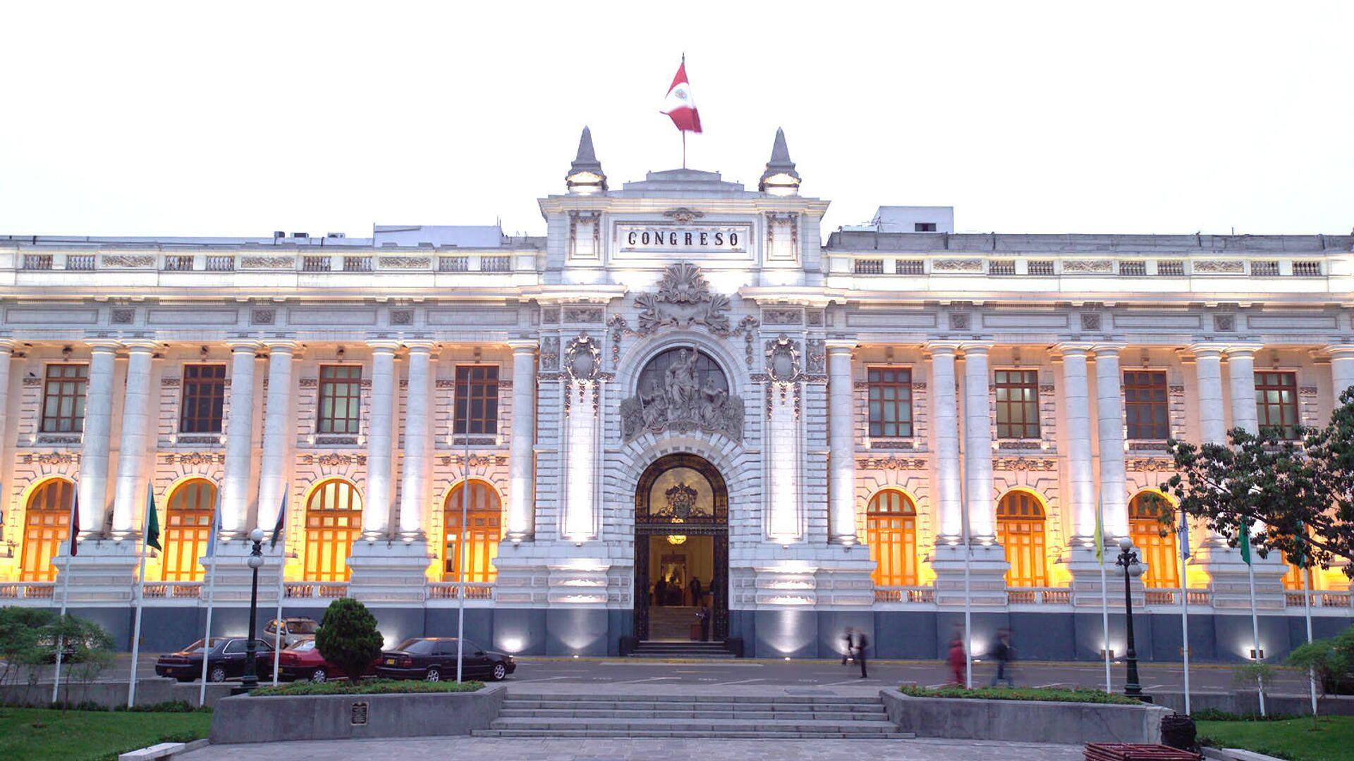 Congreso de la República del Perú - Sputnik Mundo, 1920, 30.09.2021