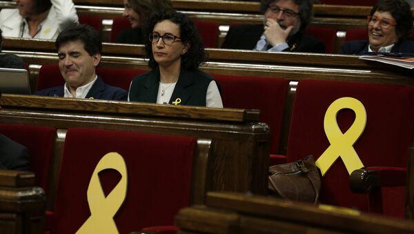 Marta Rovira, secretaria general de Esquerra Republicana de Cataluña - Sputnik Mundo