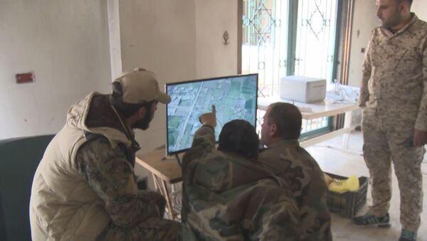 Drones al servicio del Ejército en Guta Oriental - Sputnik Mundo
