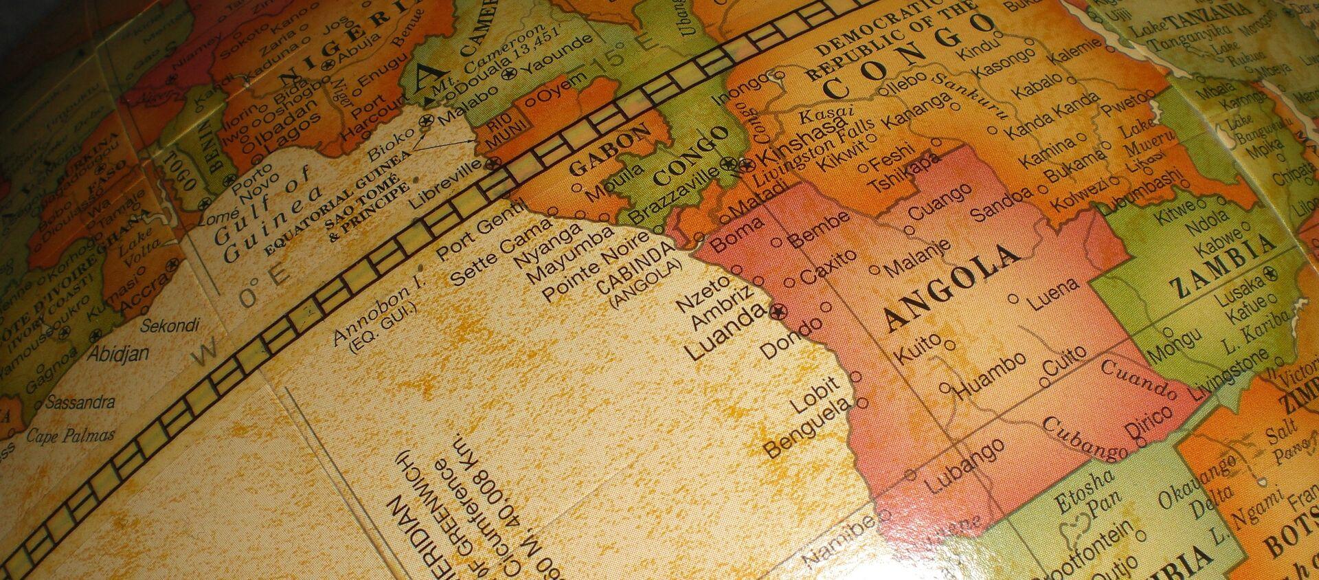 Mapa de África - Sputnik Mundo, 1920, 03.08.2018