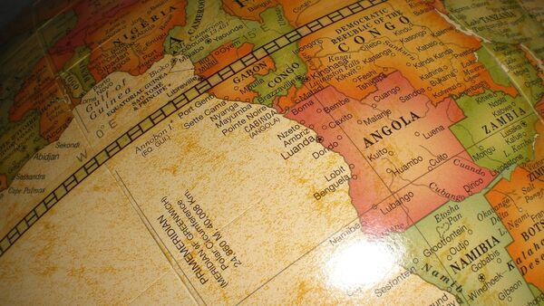 Mapa de África - Sputnik Mundo