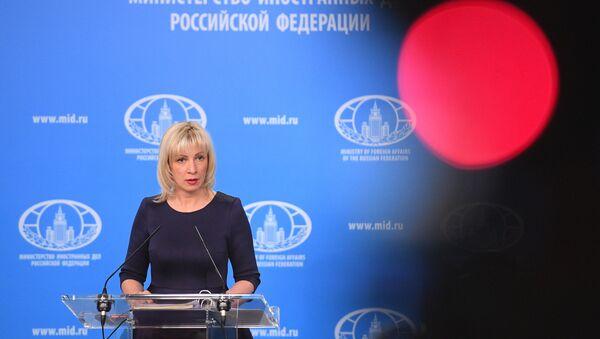 María Zajárova, la portavoz del Ministerio de Exteriores de Rusia - Sputnik Mundo