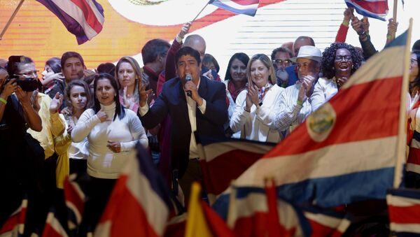 Carlos Alvarado, ganador de las elecciones presidenciales en Costa Rica - Sputnik Mundo