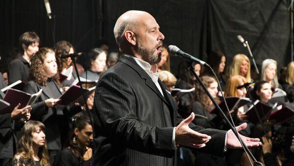 El tenor argentino y excombatiente de Malvinas Darío Volonté - Sputnik Mundo