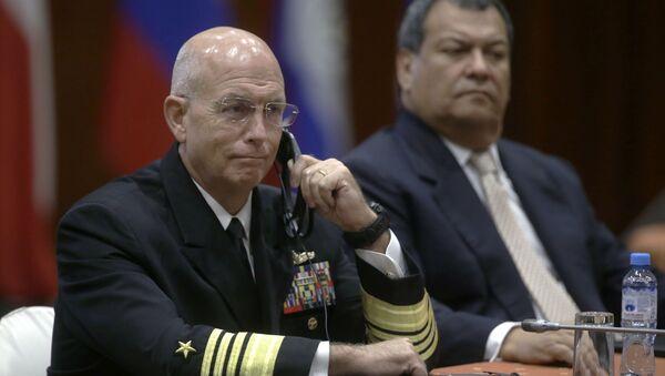 Kurt Tidd, almirante de EEUU (archivo) - Sputnik Mundo