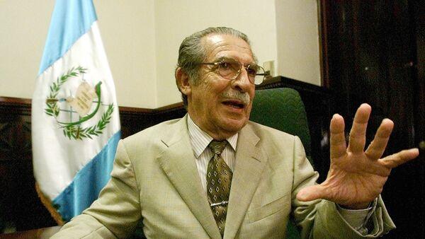 Efraín Ríos Montt, exdictador guatemalteco (archivo) - Sputnik Mundo