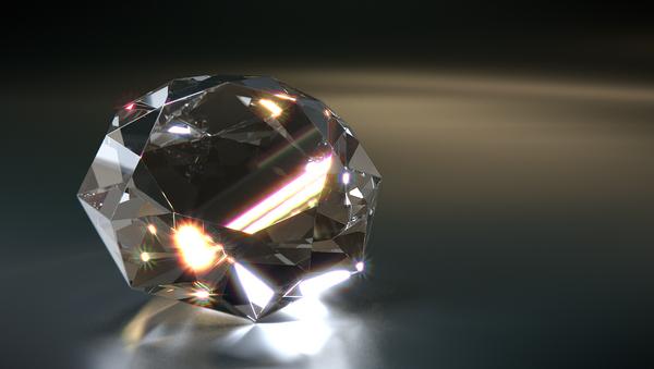 Un diamante, imagen referencial - Sputnik Mundo