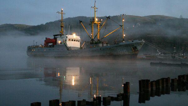 Barco pesquero ruso (imagen referencial) - Sputnik Mundo