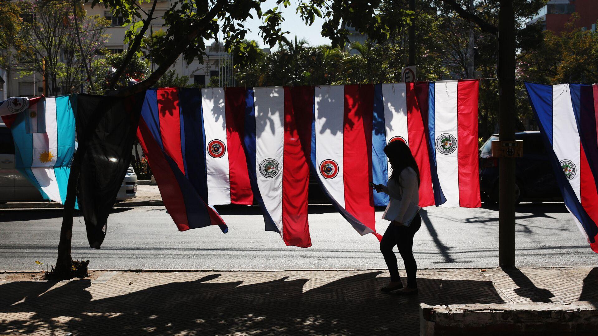 Banderas de Paraguay en Asunción - Sputnik Mundo, 1920, 30.09.2021