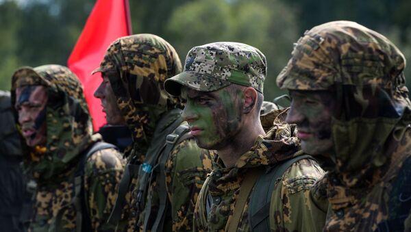 Militares bielorrusos, foto de archivo - Sputnik Mundo