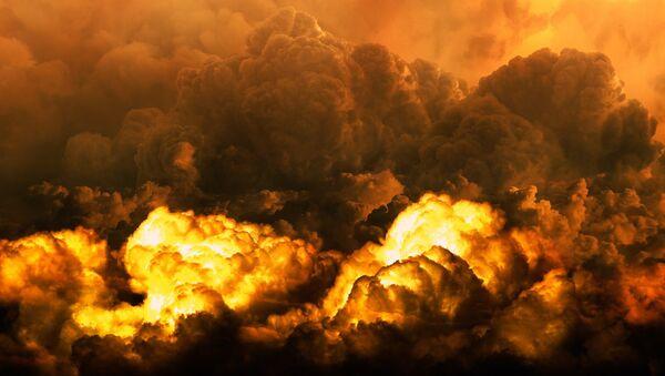 Nubes nucleares, imagen ilustrativa - Sputnik Mundo