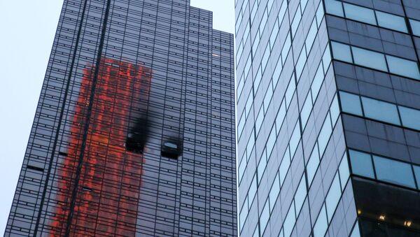 Incendio en Torre Trump en Nueva York - Sputnik Mundo