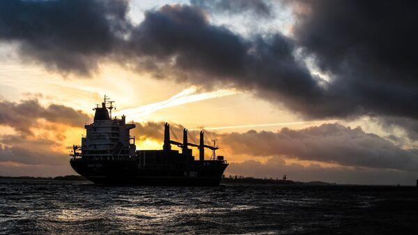 Un buque de carga (imagen ilustrativa) - Sputnik Mundo