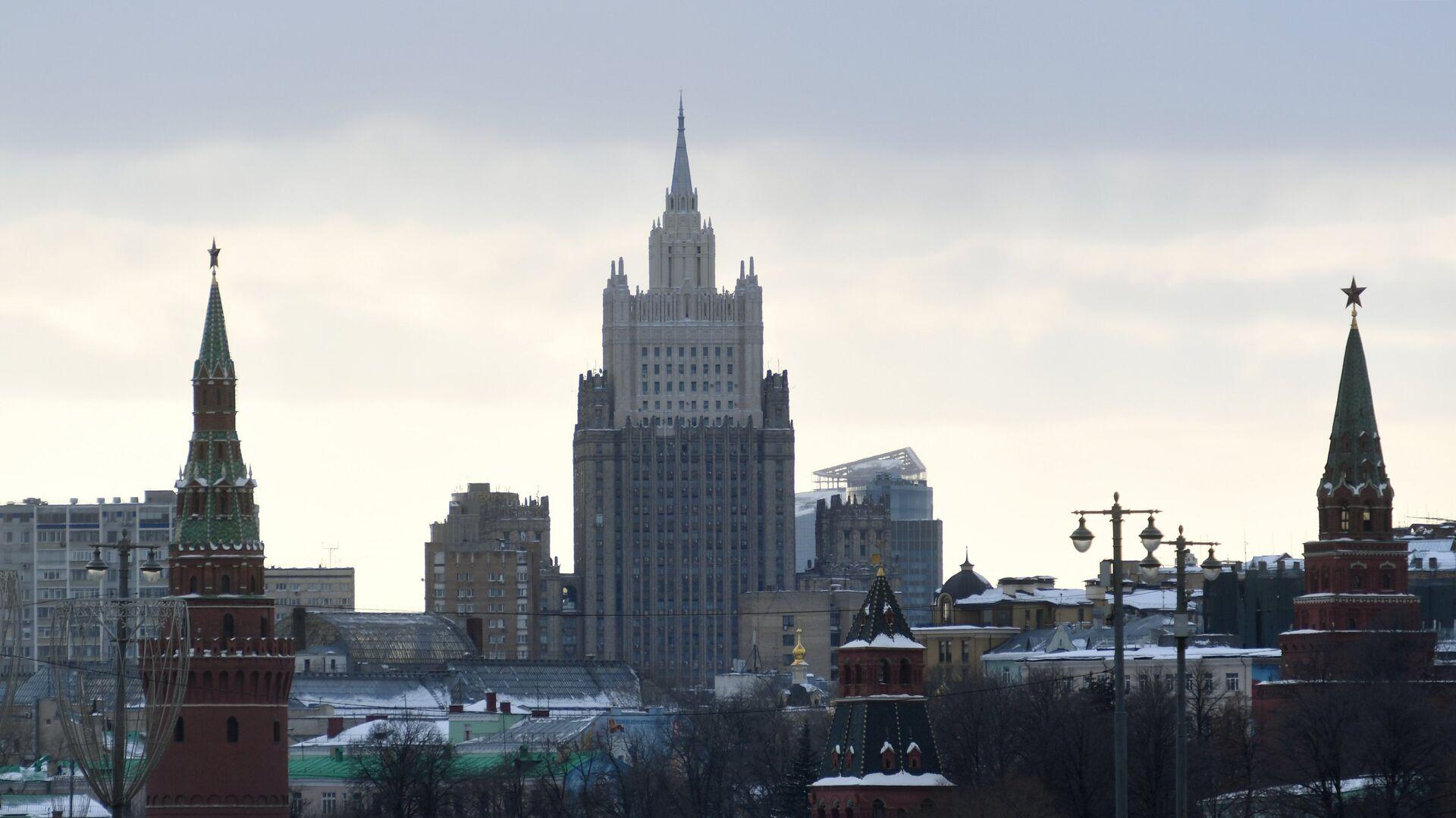 El edificio del Ministerio de Asuntos Exteriores de Rusia - Sputnik Mundo, 1920, 05.02.2021