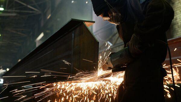 Producción de estructuras de acero (archivo) - Sputnik Mundo