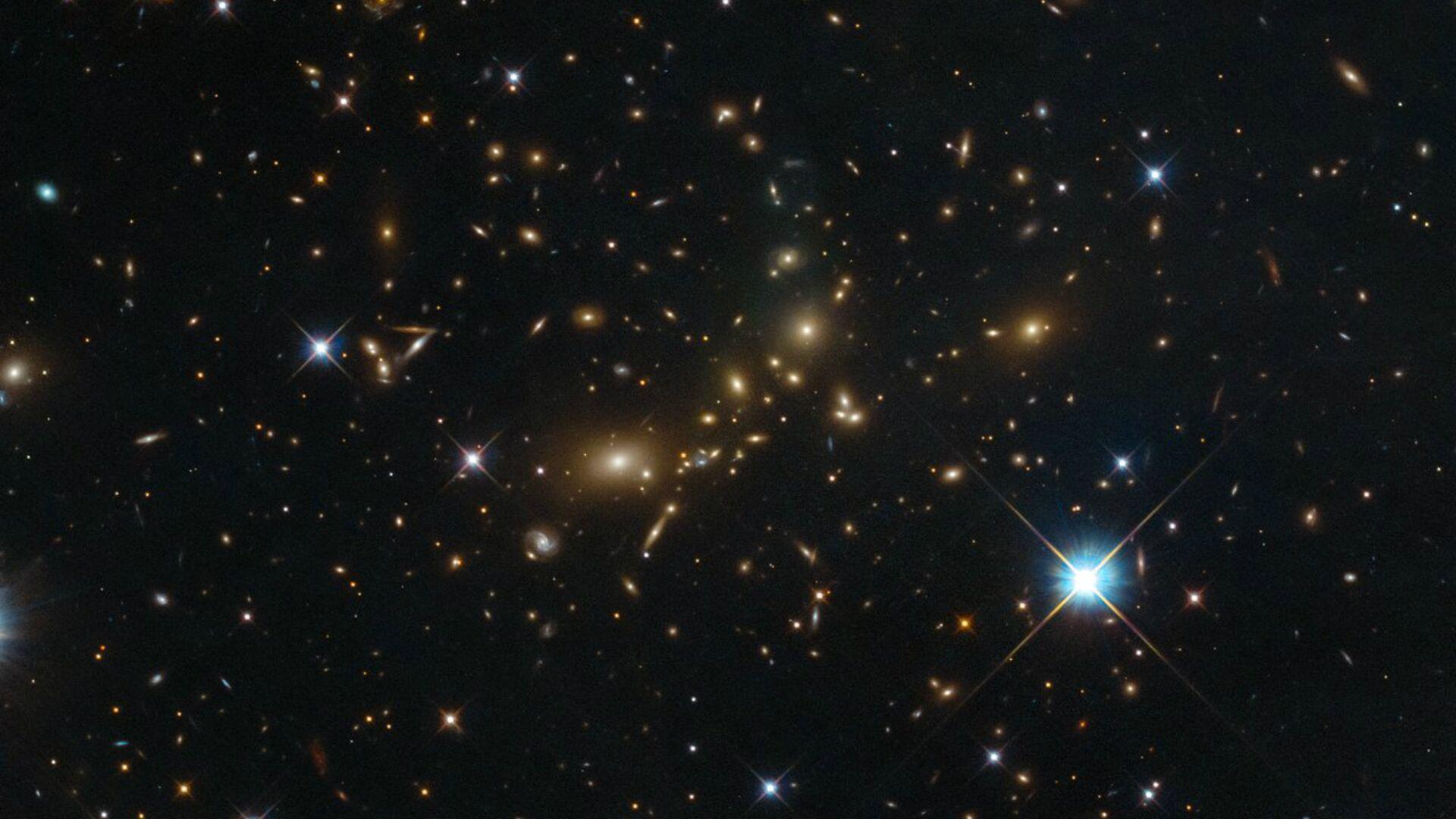 Cúmulo de galaxias PLCK G308.3-20.2 - Sputnik Mundo, 1920, 10.10.2021