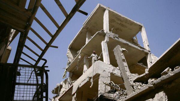 Situación en Duma, Siria (archivo) - Sputnik Mundo