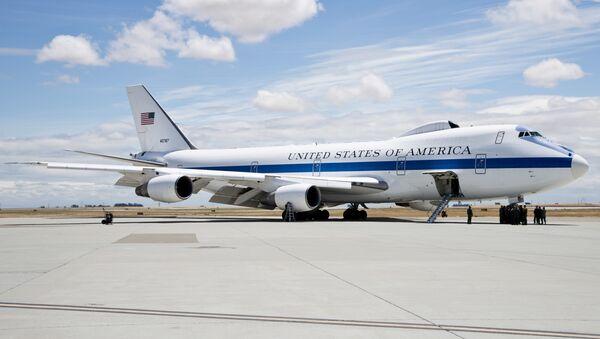 Boeing E-4, avión de mando y control estadounidense - Sputnik Mundo