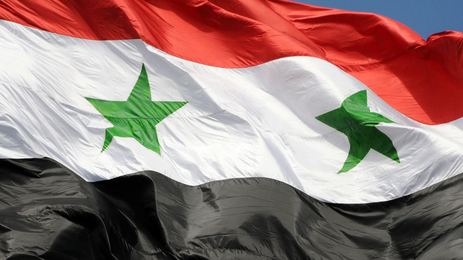 La bandera de Siria - Sputnik Mundo, 1920, 06.03.2021