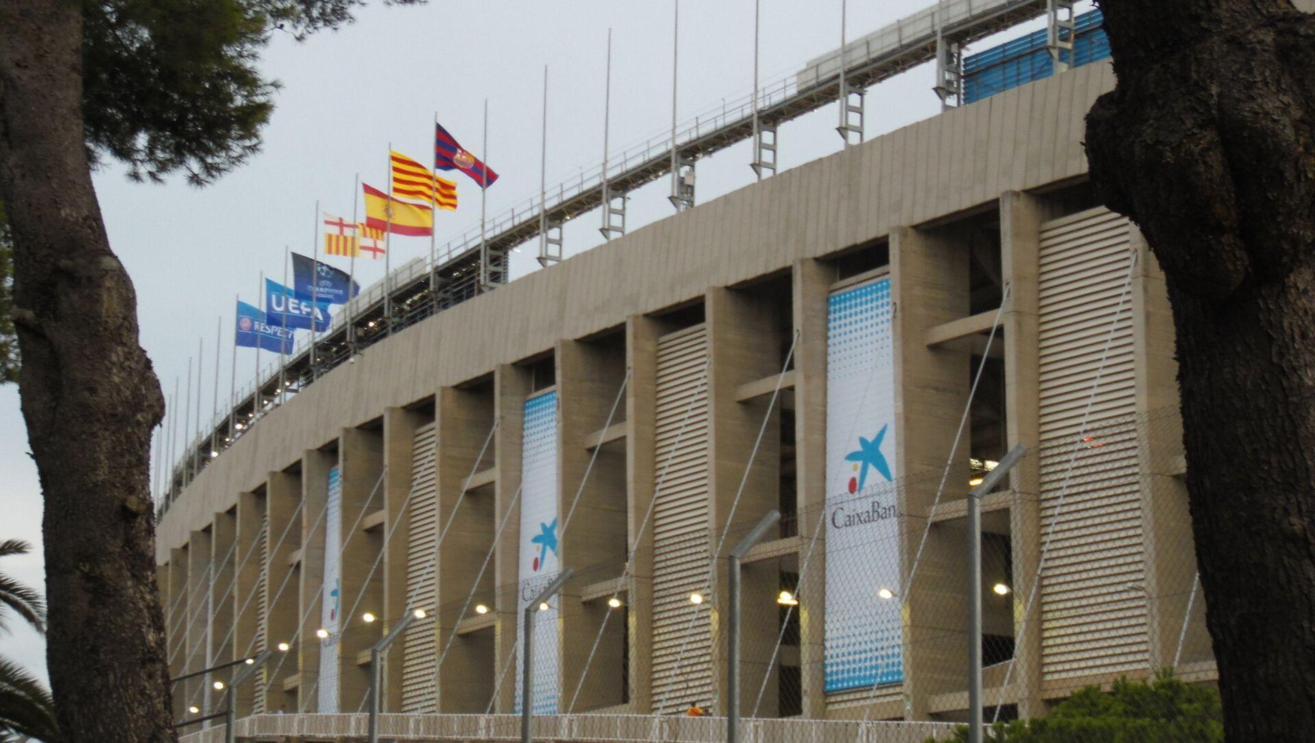 El estadio Camp Nou, Barcelona - Sputnik Mundo, 1920, 09.02.2021