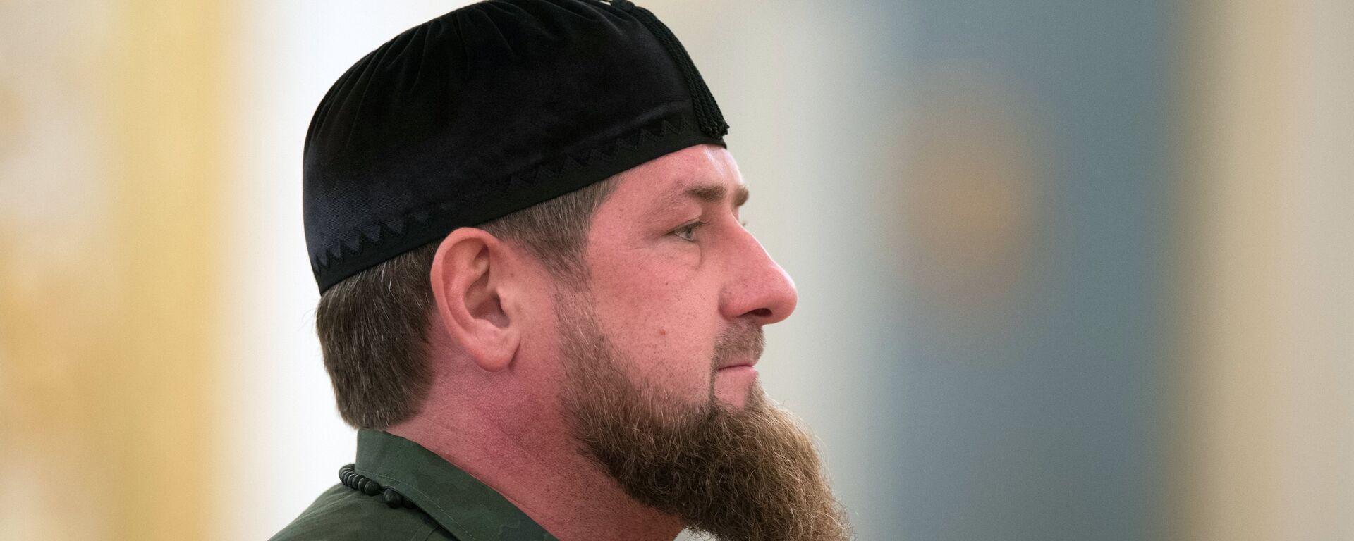 Ramzán Kadírov, líder de Chechenia - Sputnik Mundo, 1920, 20.09.2021