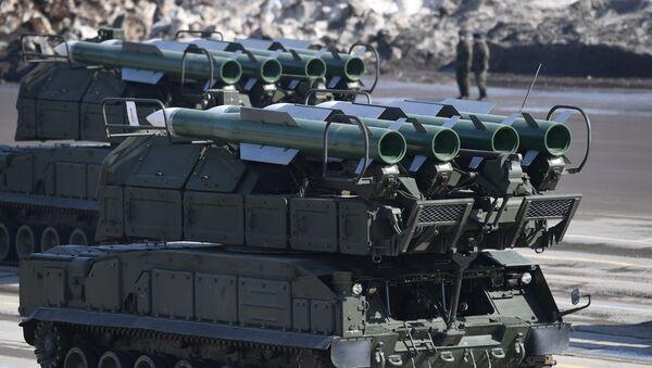 Sistema de misiles antiaéreos Buk-M2 - Sputnik Mundo
