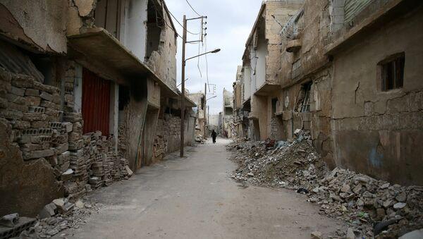 La ciudad siria de Duma (archivo) - Sputnik Mundo