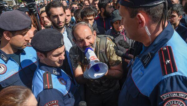 Nikol Pashinián, líder del partido armenio YELQ (archivo) - Sputnik Mundo