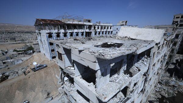 Situación en Duma, Siria - Sputnik Mundo