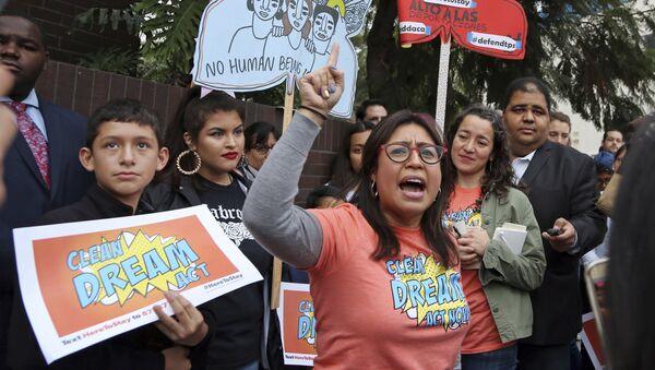 Cristina Jiménez, activista ecuatoriana - Sputnik Mundo