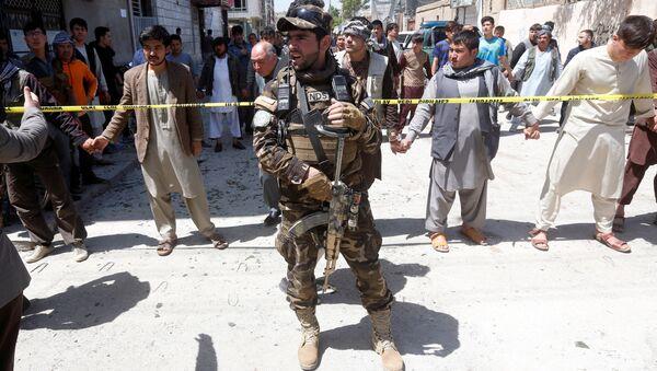 Un militar de Afganistán - Sputnik Mundo