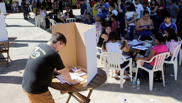 Elecciones presidenciales en Paraguay - Sputnik Mundo