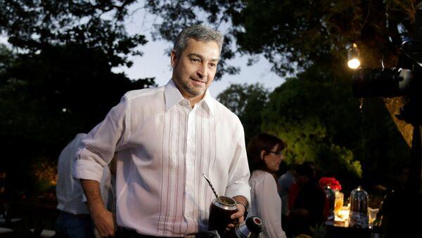 Mario Abdo Benitez, candidato a la presidencia de Paraguay - Sputnik Mundo