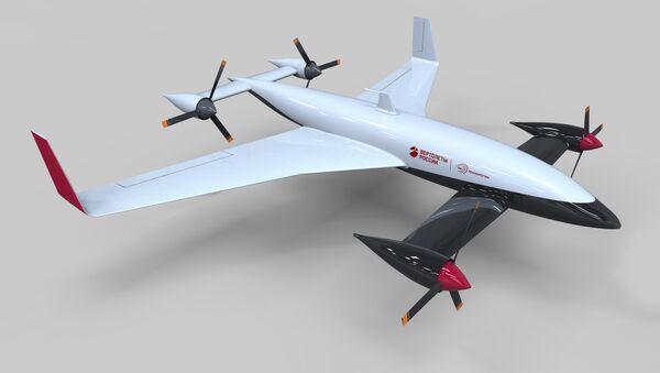 Convertiplano de la empresa VR-Technologies - Sputnik Mundo