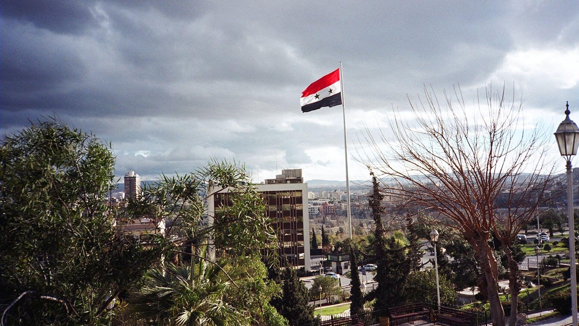 La bandera de Siria - Sputnik Mundo, 1920, 31.03.2021