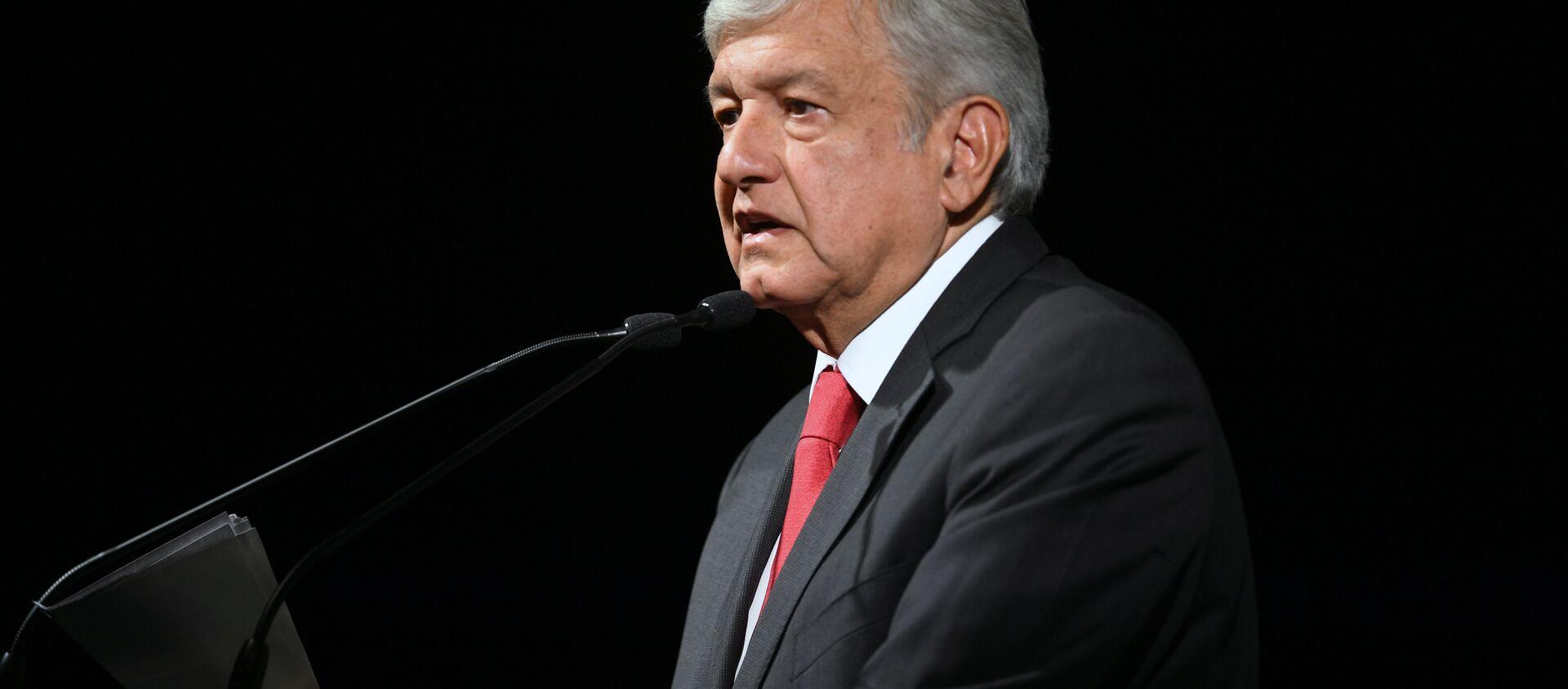 Andrés Manuel López Obrador, presidente de México - Sputnik Mundo, 1920, 14.01.2021