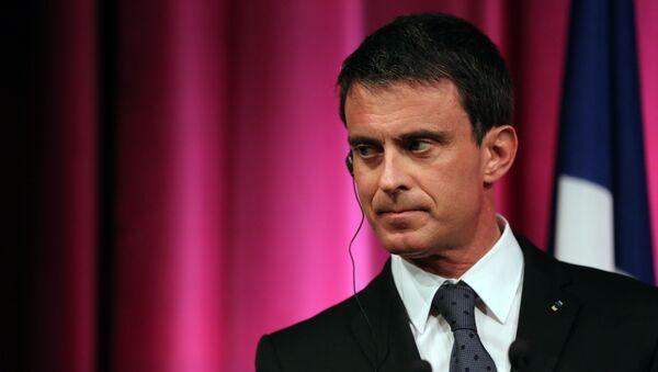 Manuel Valls, el ex primer ministro francés - Sputnik Mundo