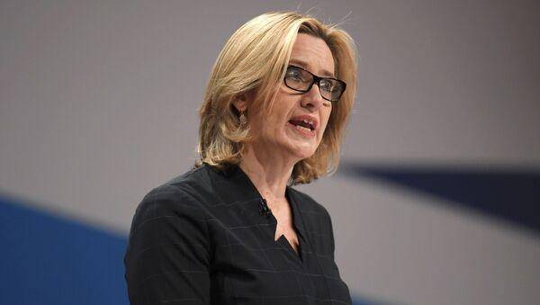 Amber Rudd, la secretaria del Interior del Reino Unido - Sputnik Mundo