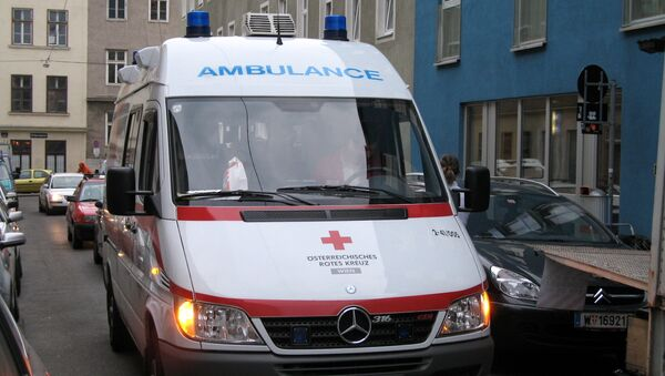 Ambulancia austriaca - Sputnik Mundo
