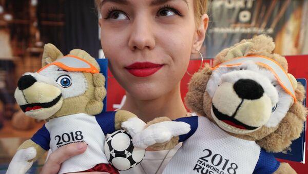 Zabivaka, mascota del Mundial de Rusia 2018 - Sputnik Mundo