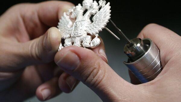 En el taller del centro de artesanías rusas Russkie Remesla - Sputnik Mundo