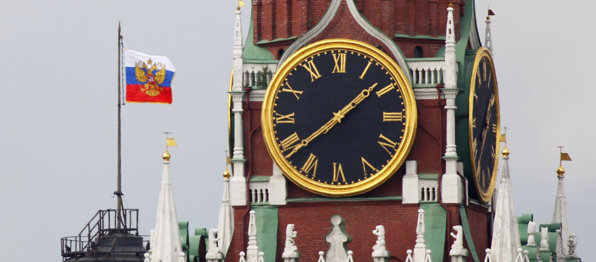 El Estandarte del presidente de la Federación de Rusia en Kremlin - Sputnik Mundo, 1920, 29.01.2021
