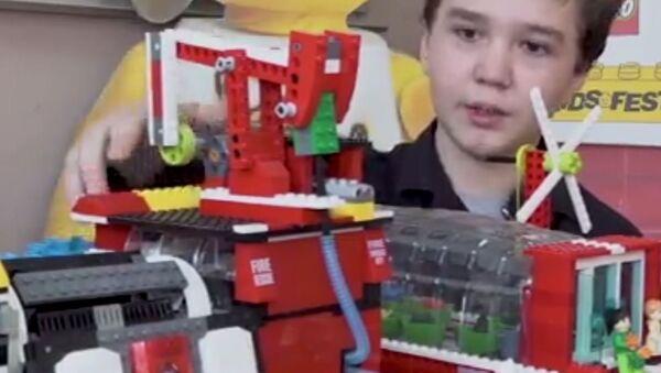 Un escolar ruso construye un reactor nuclear con piezas de LEGO - Sputnik Mundo